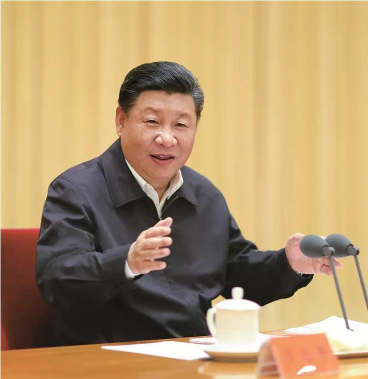 2018年7月,习近平出席全国组织工作会议并发表重要讲话